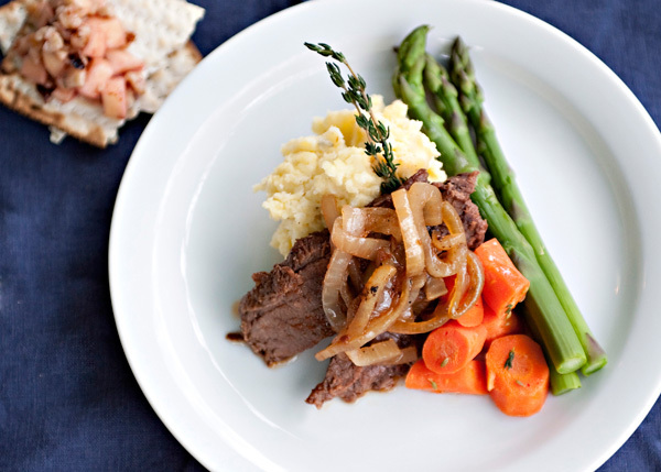"<strong>Get the <a href=""http://bakedbree.com/passover-brisket"" target=""_blank"">Passover Brisket</a> recipe from Baked Bree</"