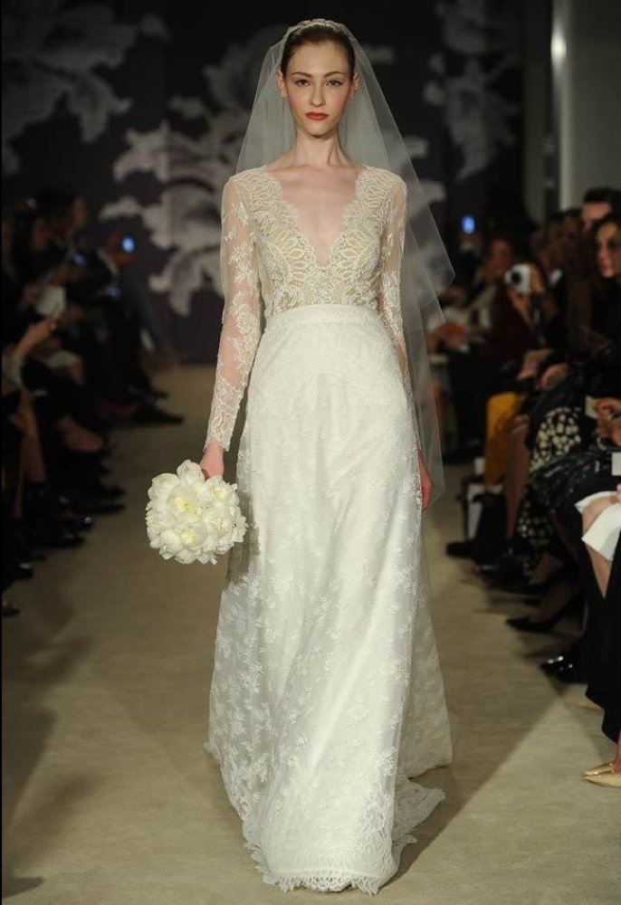 "<em>Photo: MCV Photo</em><strong>More from The Knot:</strong> <a href=""http://blog.theknot.com/tag/bridal-fashion-week/?cm_mm"