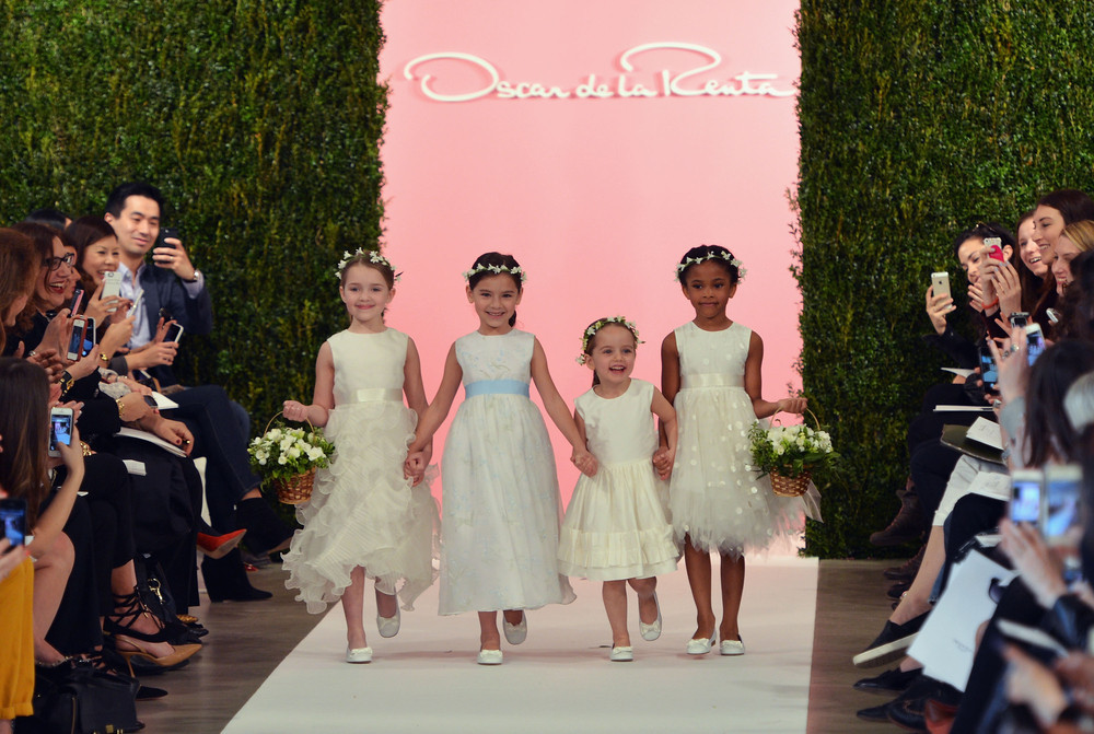 "When these cuties made their debut on the runway in <a href=""http://www.huffingtonpost.com/2014/04/11/oscar-de-la-renta-sprin"