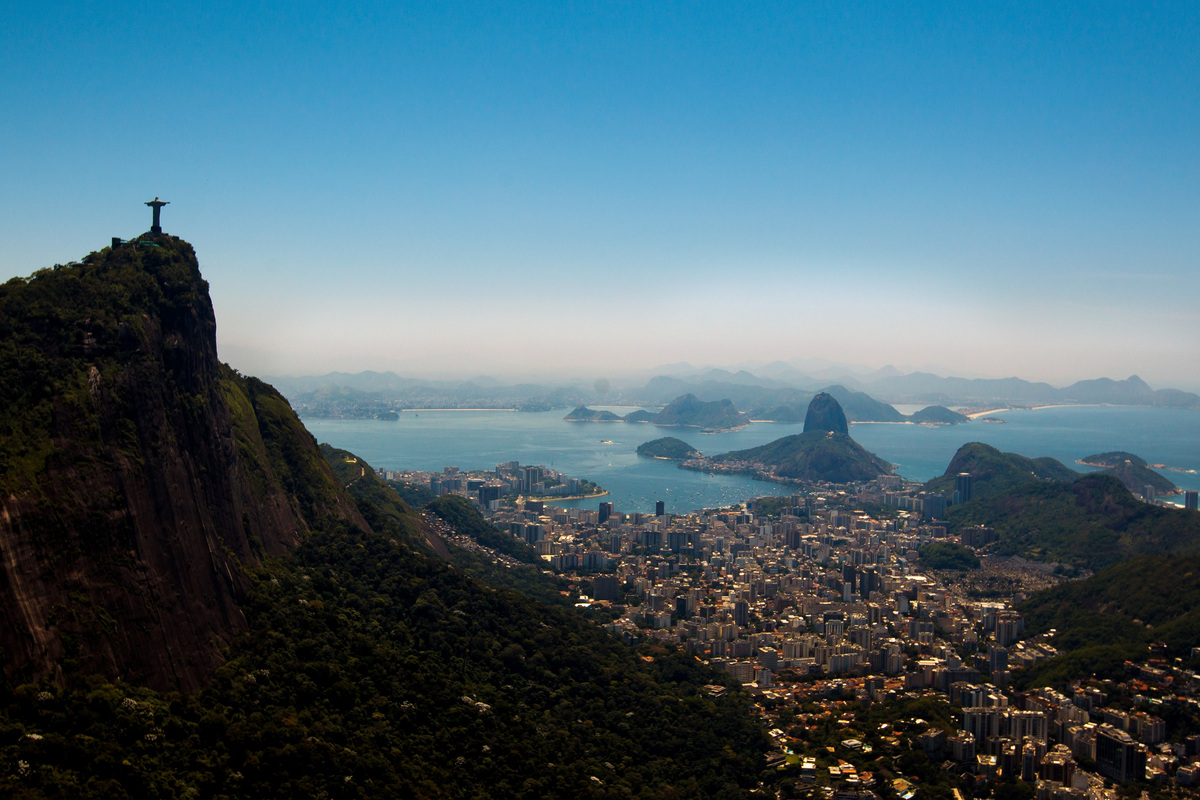 Another Latin American city to make the top 10 emerging global cities was Brazil's Rio de Janeiro. <br><em>View of Rio de Jan