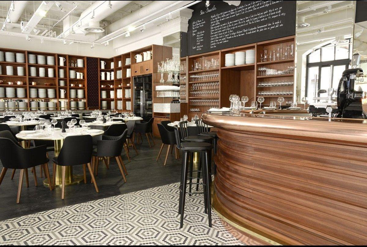 Photograph courtesy Clarisse Ferreres for Restaurant Lazare.