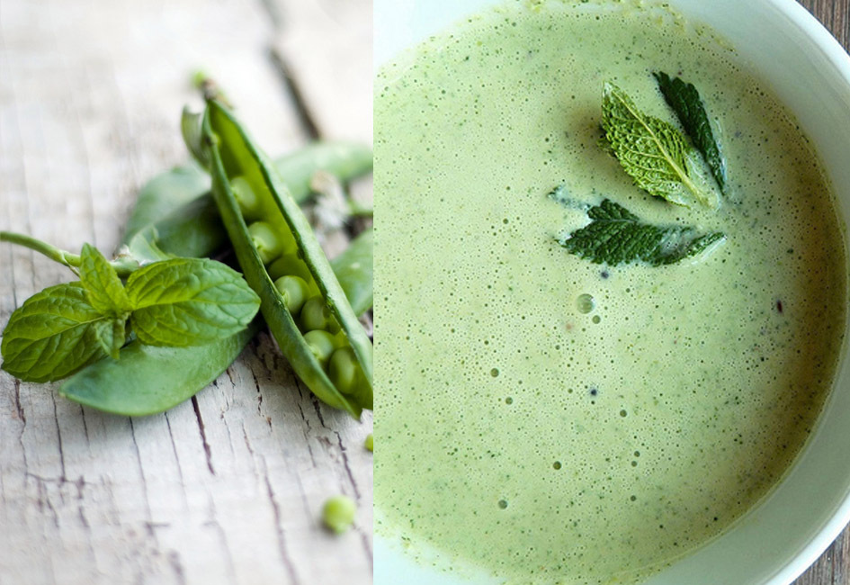 "<strong>Get the <a href=""http://food52.com/recipes/18086-pea-and-mint-cream"" target=""_blank"">Pea and Mint Cream recipe</a> fr"
