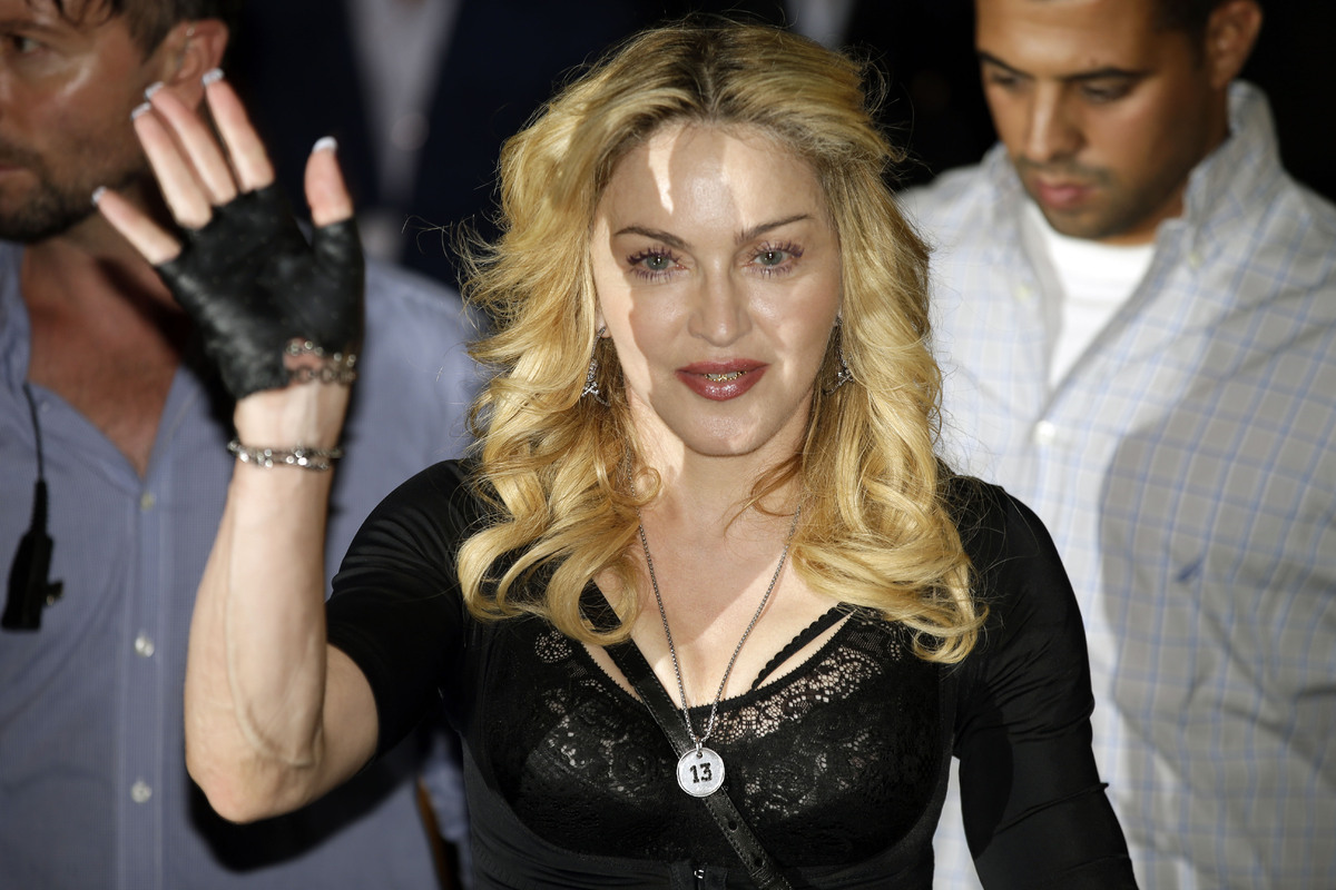 """<a href=""""http://www.vulture.com/2009/10/madonna_on_letterman.html"""" target=""""_blank"""">""""It [my behavior on the show in 1994] wasn"""