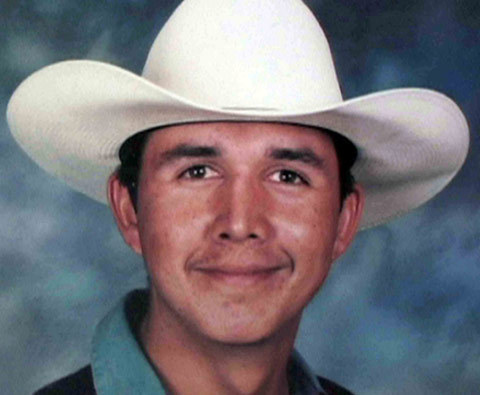 Esequiel Hernandez, 18, was herding goats near his home in Redford, Texas, when he was killed by a team of U.S. Marines in 19