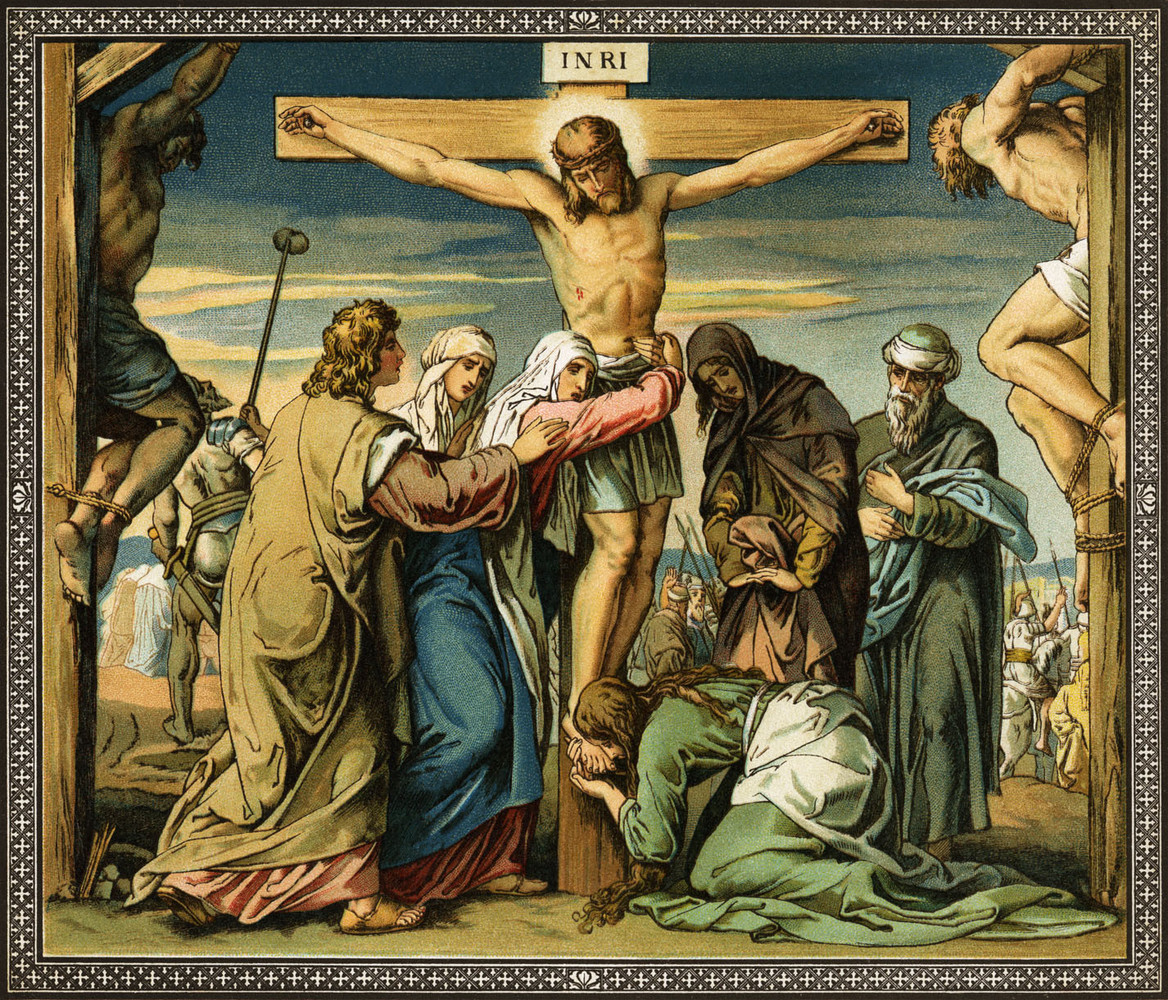 Image result for crucifixion of jesus art