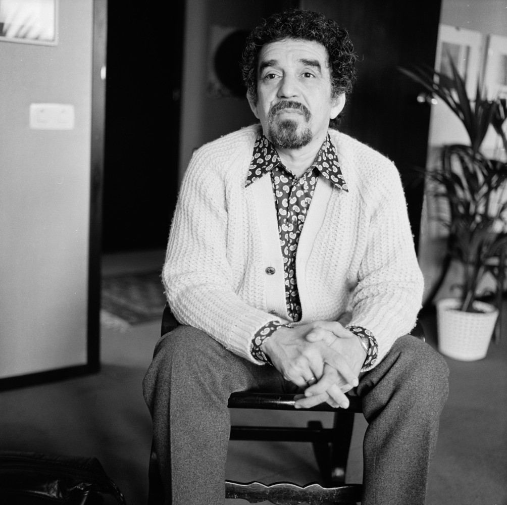 """Portrait of Colombian author and journalist Gabriel Garcia Marquez, May 1972. (Katherine Young/Getty Images)  <a href=""""http:/"""