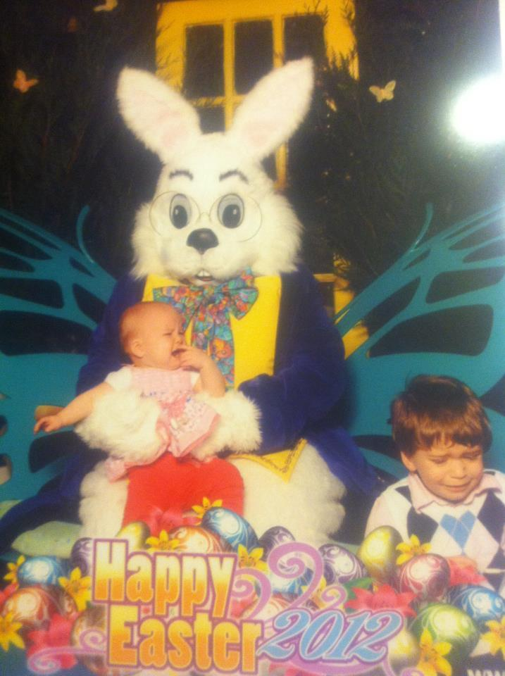 19 Creepy, Terrifying And Just Plain Wrong Easter Bunnies ...