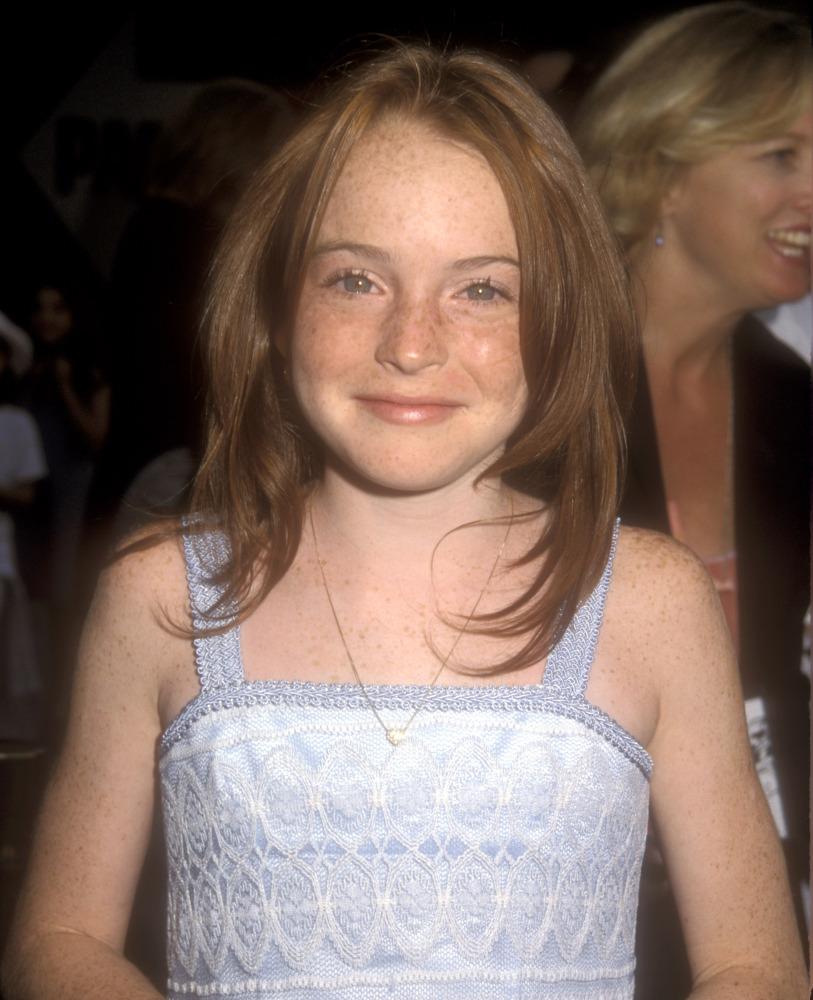 Eine noch ganz unschuldige Lindsay Lohan im Juli 1998.