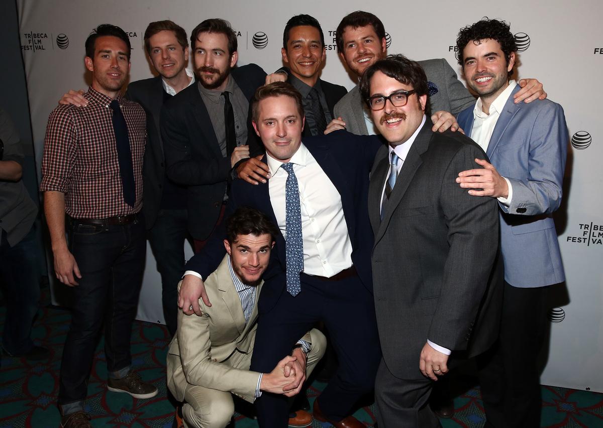 Will Elliot, Kirk C. Johnson, Brian McElhaney, Gabriel Luna, producer Bradley Jackson, Nick Rutherford, Nick Kocher, Beck Ben