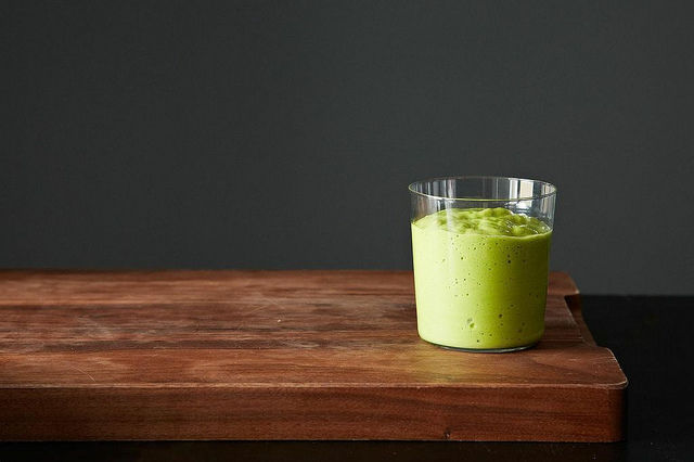 "<strong>Get the <a href=""http://food52.com/recipes/22704-green-smoothie-with-avocado"" target=""_blank"">Green Smoothie With Avo"