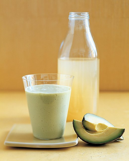 "<strong>Get the <a href=""http://www.marthastewart.com/260783/avocado-pear-smoothie"" target=""_blank"">Avocado-Pear Smoothie</a>"