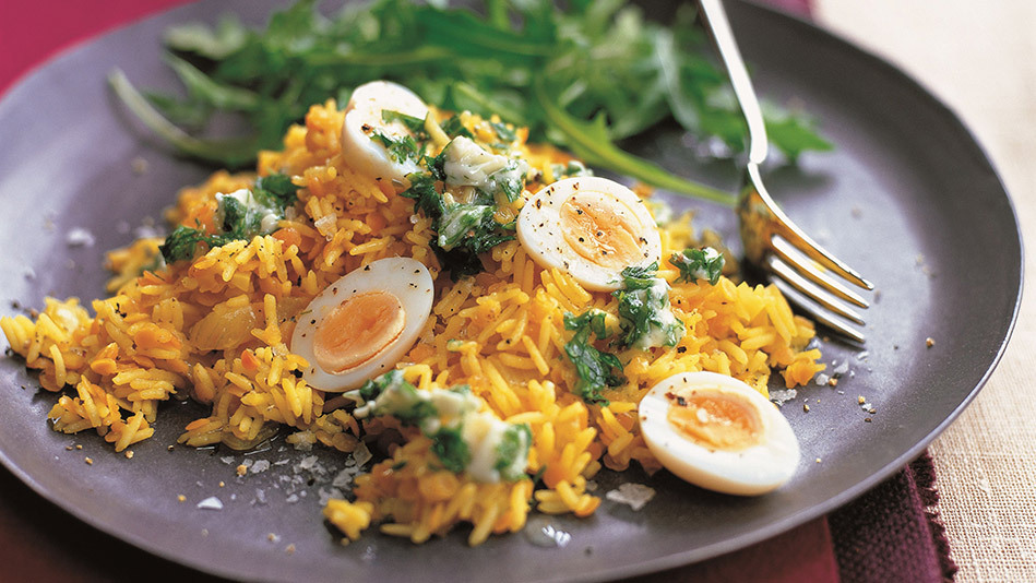 Kedgeree, a versatile, filling rice dish, isn't well-known in the U.S., but it ought to be. Traditionally made with flakes of