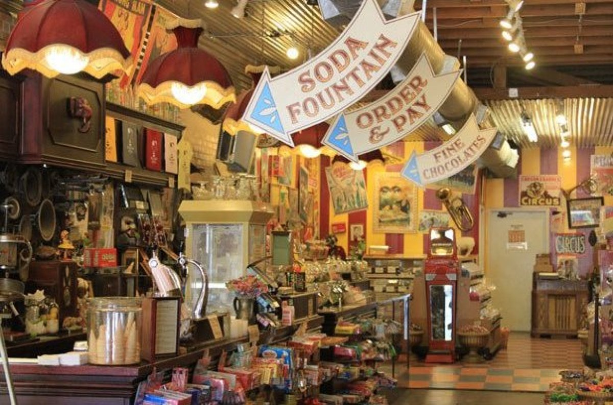 In the heart of Austin, Texas candy lovers will find a unique spot known as the Big Top Candy Shop that carries a variety of