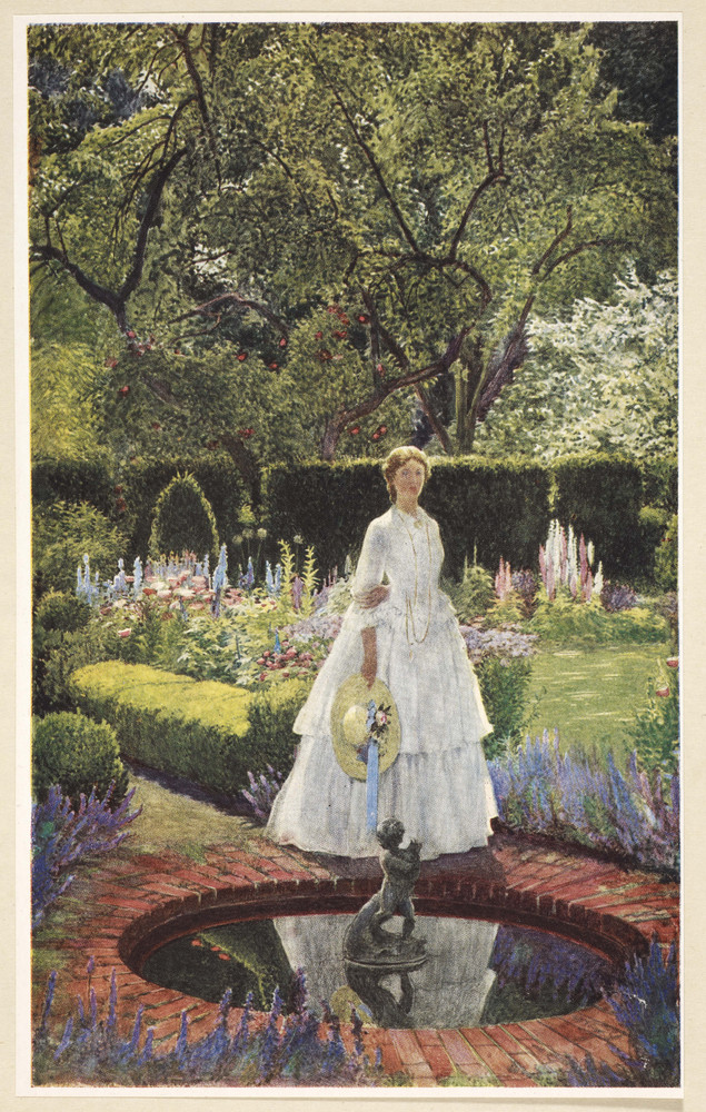 """The most famous nineteenth-century verses about love in a garden are undoubtedly these stanzas from Alfred Tennyson's """"Maud,"""""""