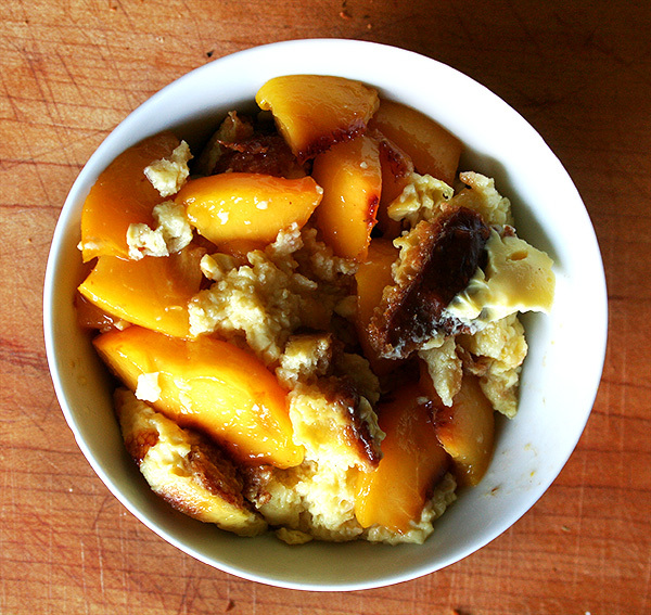 """<strong>Get the <a href=""""http://www.alexandracooks.com/2009/10/13/the-best-brioche-bread-pudding-so-much-love-for-tartine/"""" t"""