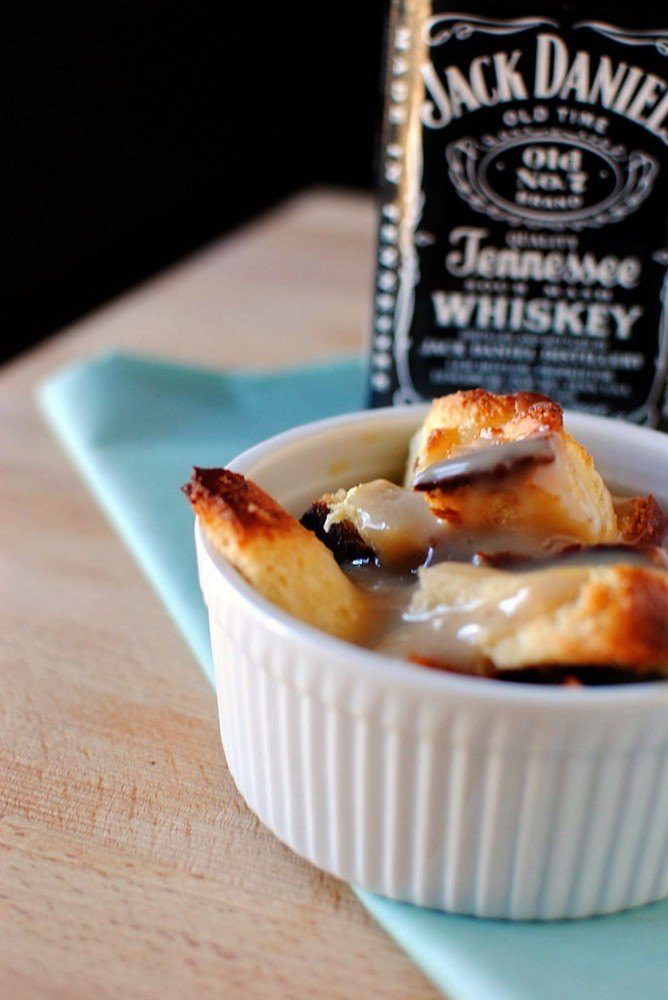 """<strong>Get the <a href=""""http://passthesushi.com/creole-bread-pudding-with-bourbon-whiskey-sauce/"""" target=""""_blank"""">Creole Bre"""