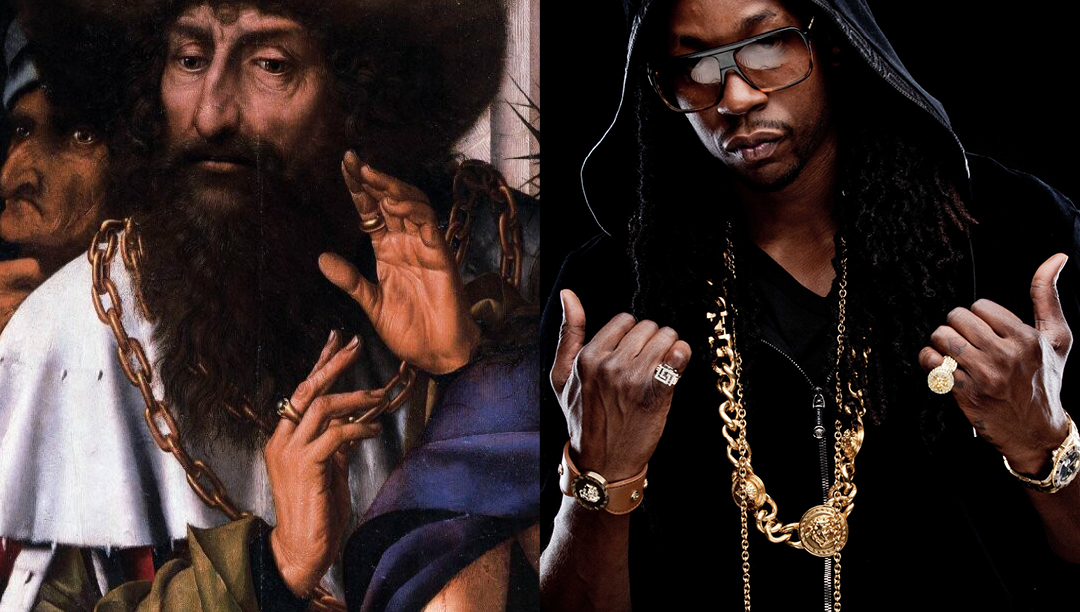 """It's amazing how often photos of today's <a href=""""http://b4-16.tumblr.com/"""" target=""""_blank"""">hip hop artists match the imagery"""