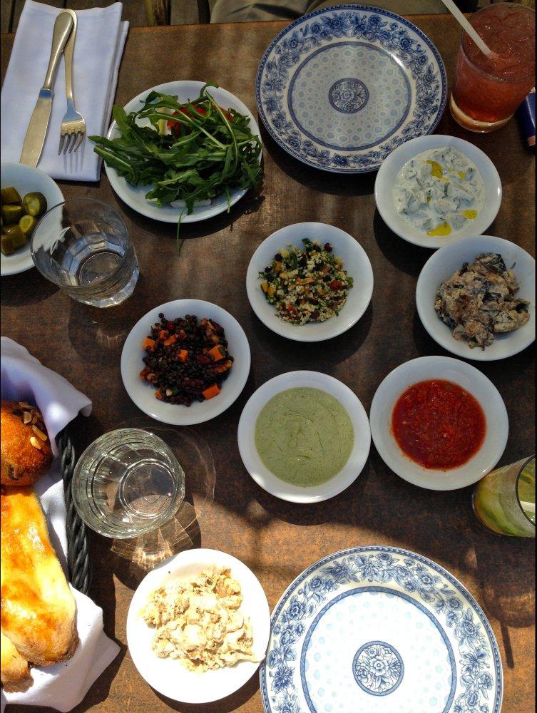 Lunch in Tel Aviv, Talia Ricci