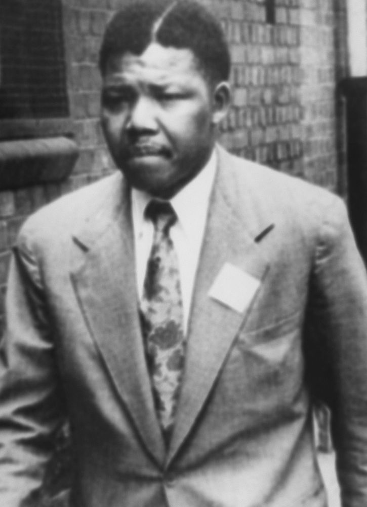 When Did Mandela Go To Jail