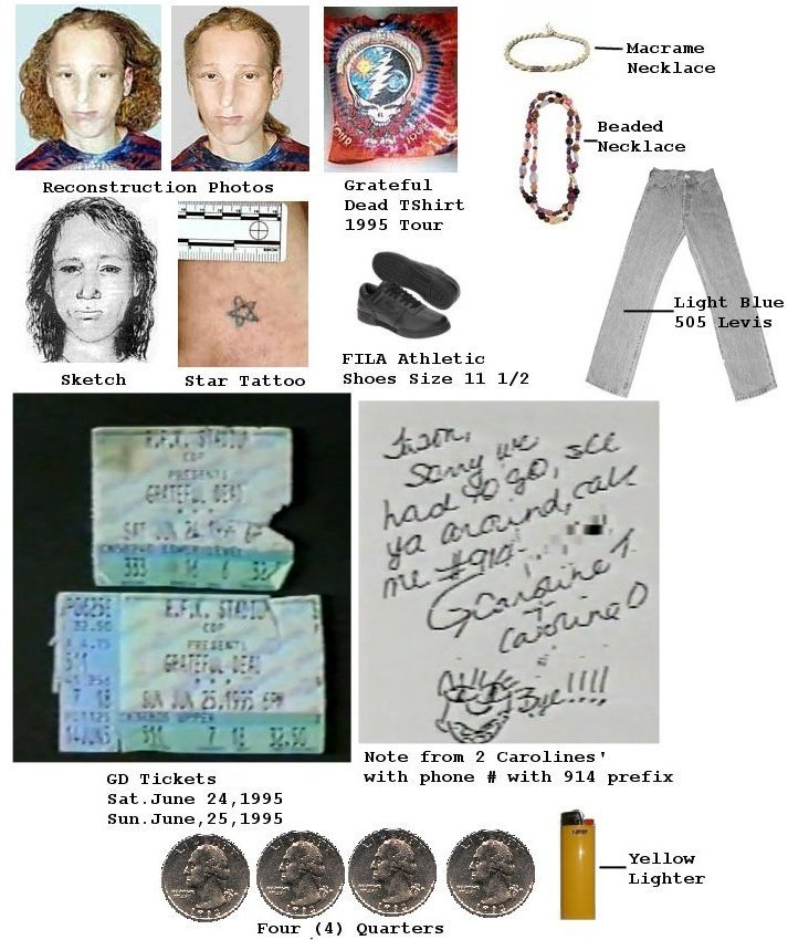 Photos related to the case that have been released since 1995.