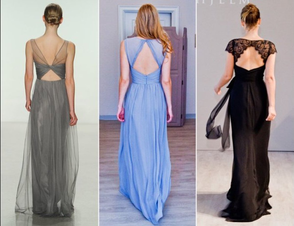 The hottest bridesmaid dress trends for fall 2014 huffpost choose a dress with a fresh accent like a lace keyhole or even a cutout in ombrellifo Choice Image