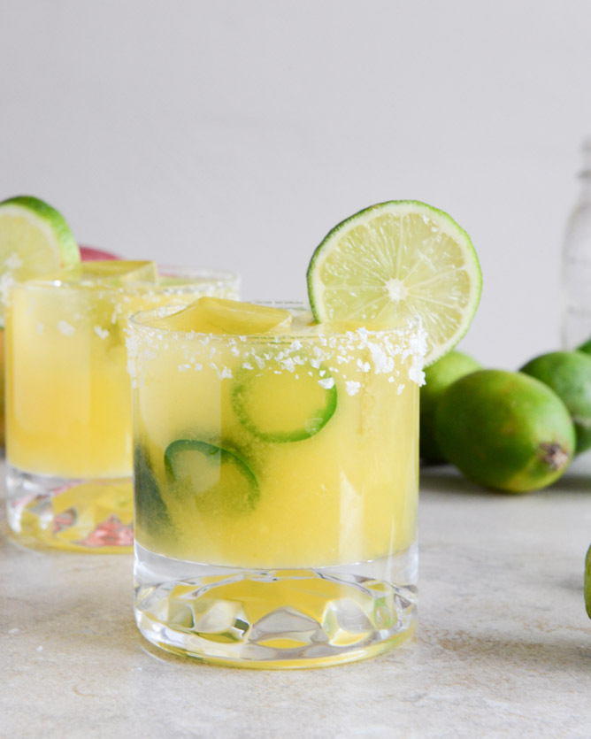 "<strong>Get the <a href=""http://www.howsweeteats.com/2013/02/mango-jalapeno-margaritas/"" target=""_blank"">Mango Jalapeño Marga"