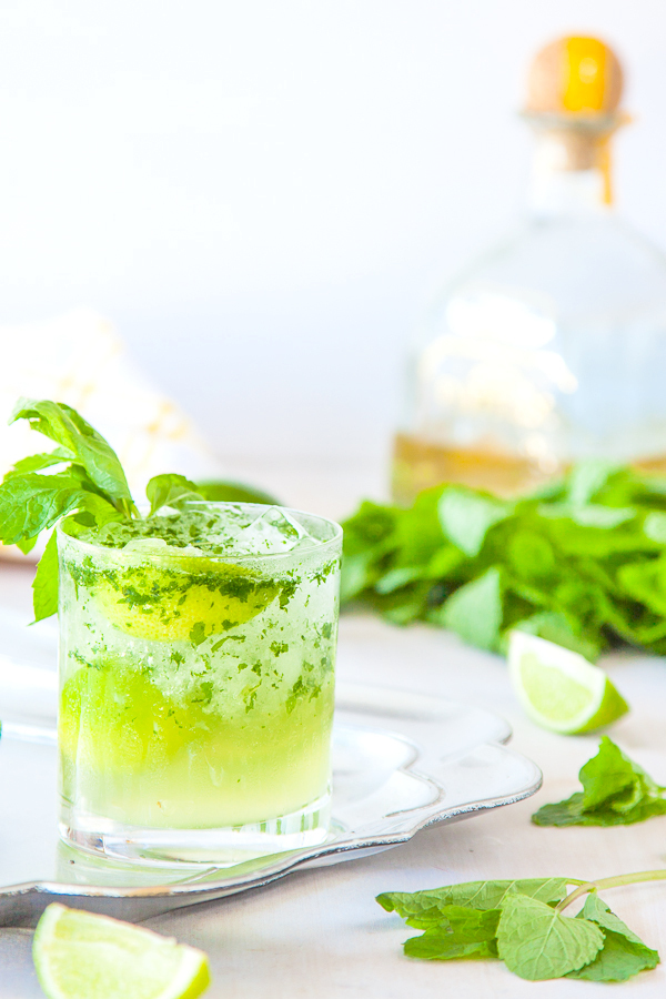 "<strong>Get the <a href=""http://www.deliciouseveryday.com/tequila-mojito-recipe/"" target=""_blank"">Tequila Mojito Cocktail rec"