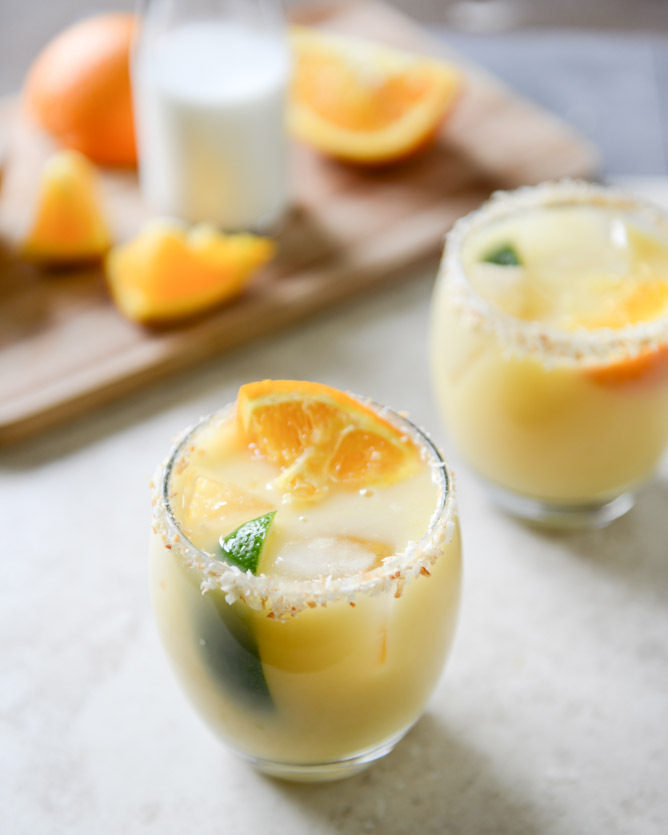 """<strong>Get the <a href=""""http://www.howsweeteats.com/2013/05/coconut-creamsicle-margaritas-and-too-many-cinco-de-mayo-recipes"""