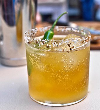 "<strong>Get the <a href=""http://casadragones.com/tequila-casa-dragones-blanco-cocktail-michelada-primaverde/"" target=""_blank"""