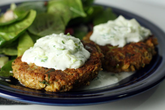 "<strong>Get the <a href=""http://www.macheesmo.com/2010/04/chickpea-patties/"">Chickpea Patties</a>  recipe by Macheesmo</stron"