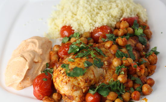 "<strong>Get the <a href=""http://www.macheesmo.com/2009/03/paprika-mediterranean-chicken/"">Paprika Mediterranean Chicken</a> r"