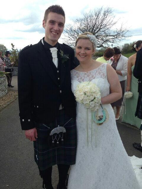 """""""Mr. and Mrs. Robertson of West Lothian, Scotland"""""""