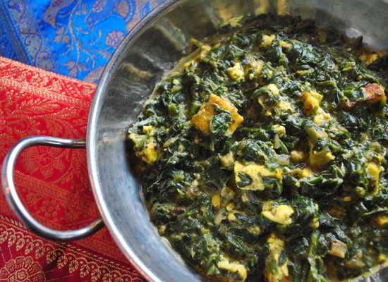 "<strong>Get the <a href=""http://blackdogfoodblog.com/saag-paneer/"">Saag Paneer</a> recipe from Black Dog Food Blog</strong>"