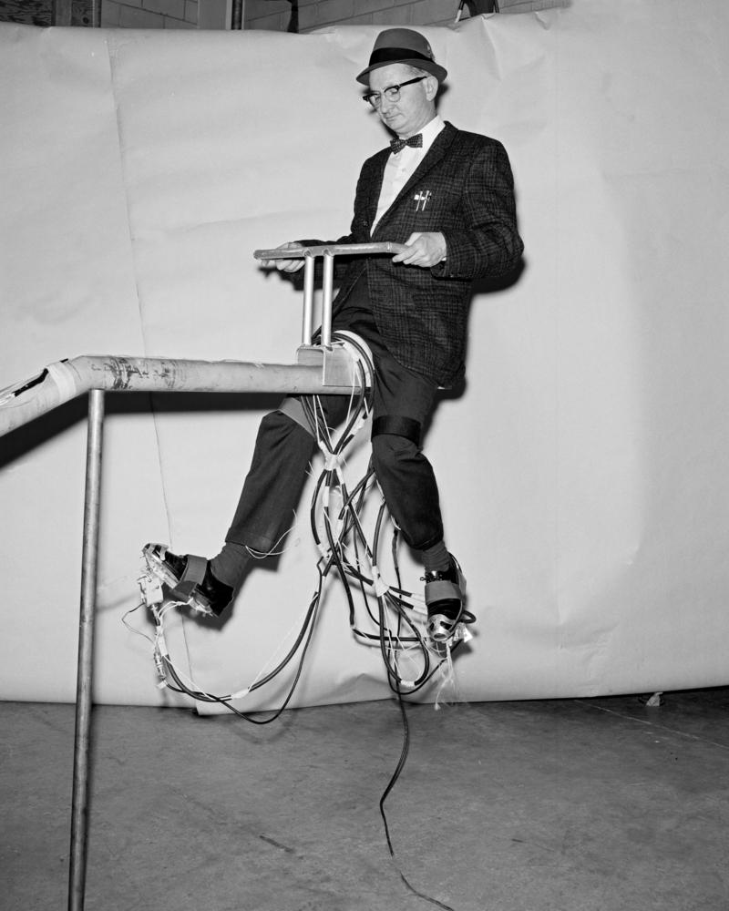 1967 John D. Bird inventor of Jet Shoes
