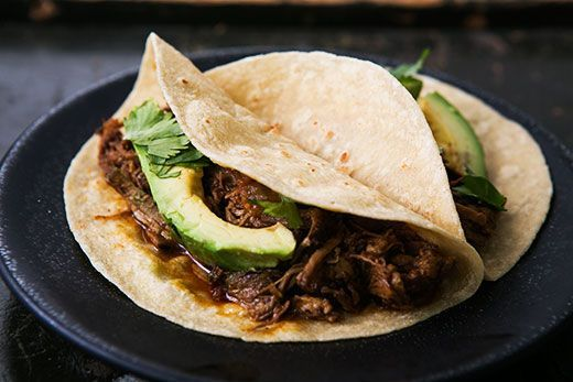 "<strong>Get the <a href=""http://www.simplyrecipes.com/recipes/slow_cooker_mexican_pulled_pork/"" target=""_blank"">Slow Cooker M"