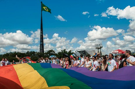 Over 100 actions are anticipated in Brazil for the International Day Against Homophobia & Transphobia 2014, with all major ci