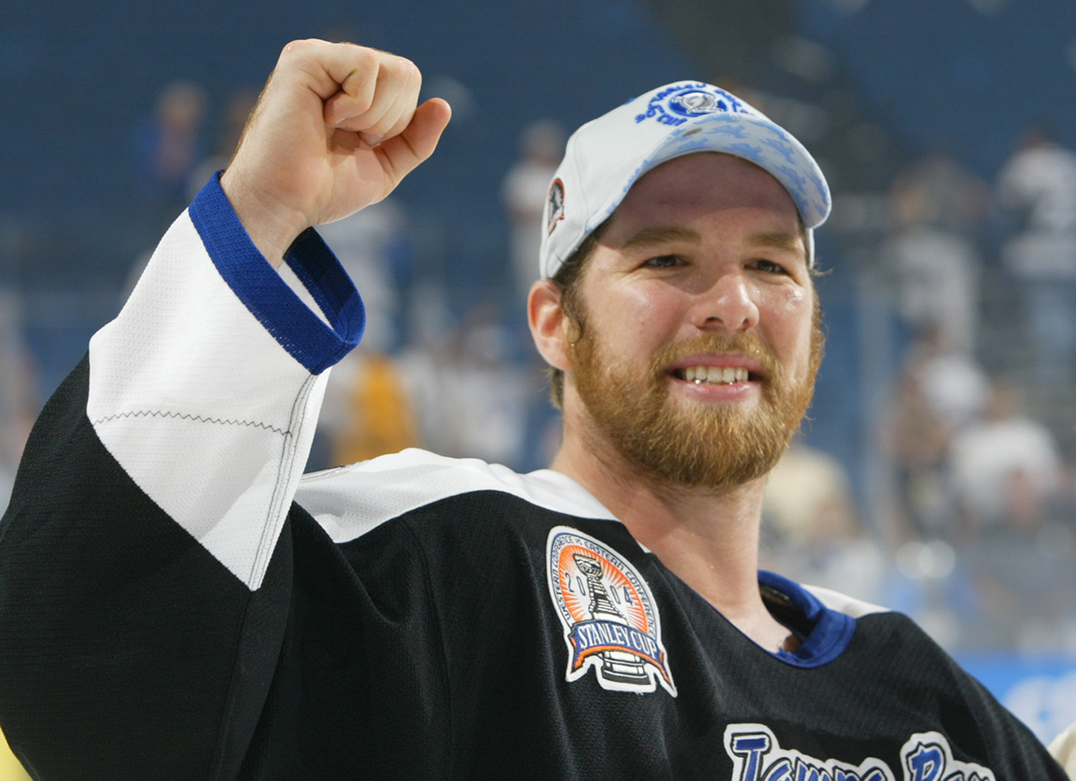 "André Roy's team, the <a href=""http://lightning.nhl.com/"" target=""_blank"">Tampa Bay Lightning</a>, took home the Stanley Cup"
