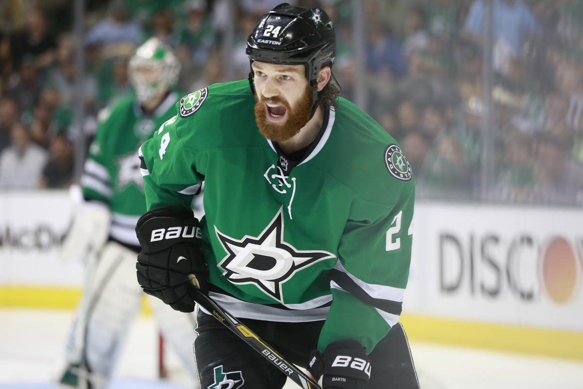 "Jordie Benn of the <a href=""http://stars.nhl.com/"" target=""_blank"">Dallas Stars</a> is also rocking a pretty mean beard for t"