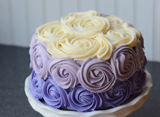 recipe: ombre rosette cake recipe [23]