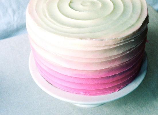 Ombre Cake Recipe From Scratch