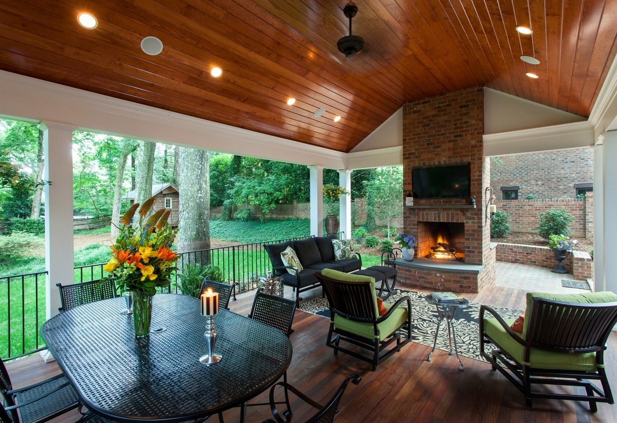 11 Gorgeous Porches And Patios We Need To Relax On This