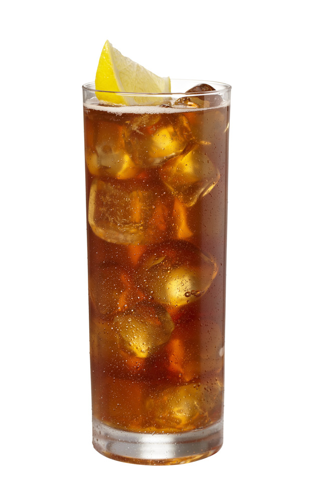 Vodka, rum, tequila, gin, triple sec, sour mix and a splash of Coke. In other words, the strongest drink in the universe and
