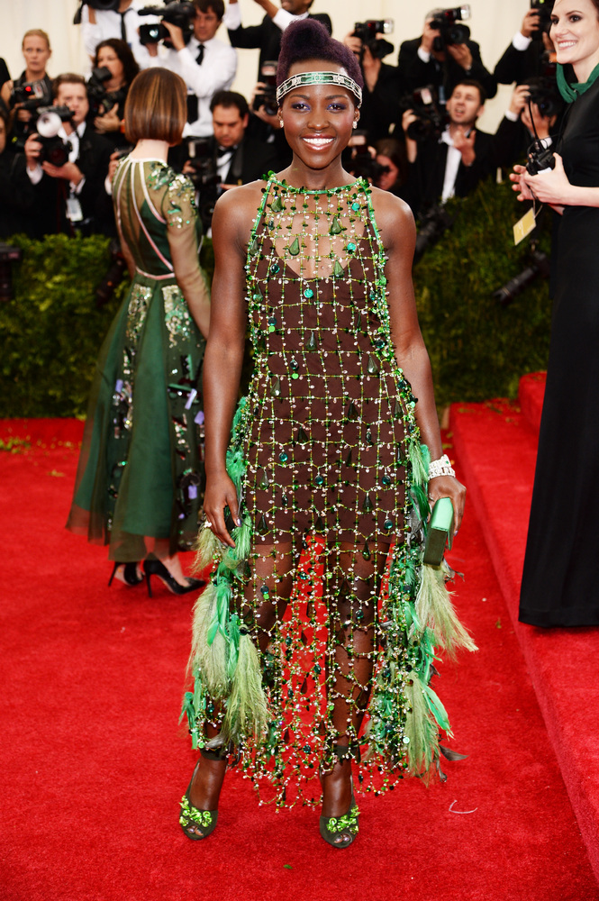 Lupita is one of our favorite style stars, so the fact that she chose to come to the Met Gala as a flapper was a little disap