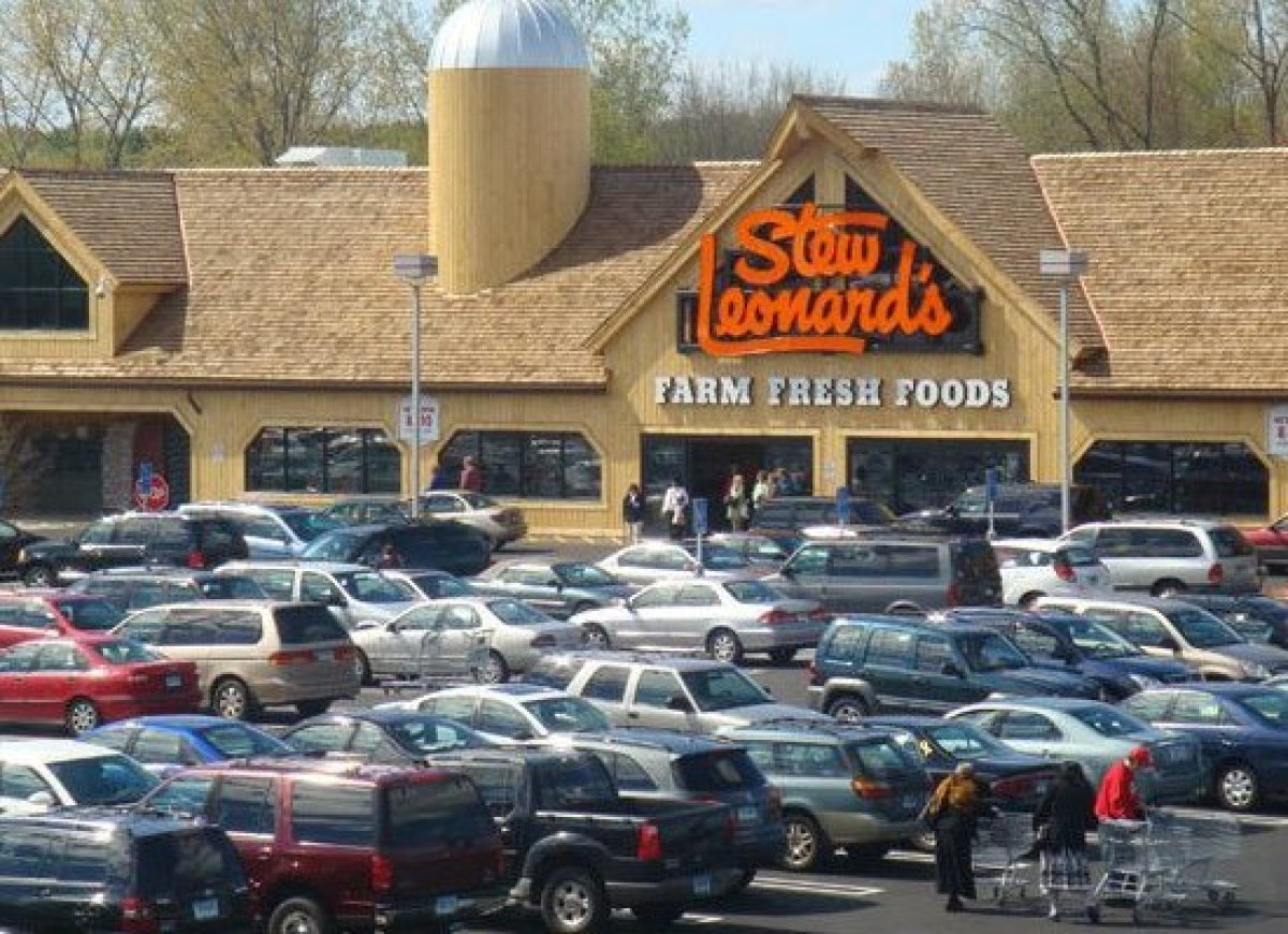 "Serving the Northeast in New York and Connecticut, Stew Leonard's was named by the The New York Times the ""Disneyland of Dair"