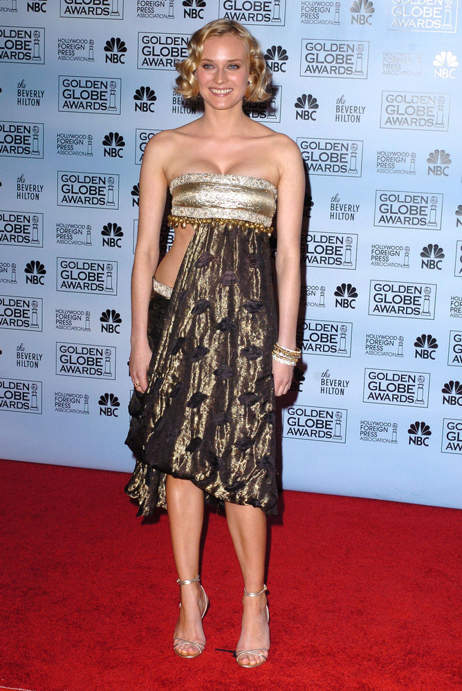 """At least Kruger recognizes this dress as one of <a href=""""http://www.huffingtonpost.com/2011/02/16/diane-kruger-reveals-most_n"""
