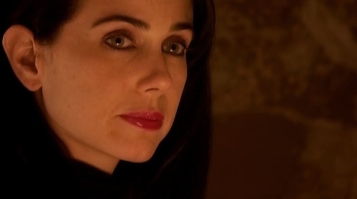 """Best known as Jenny Schecter from Showtime's """"The L Word"""" and Mandy on """"24,"""" Mia Kirshner played Peter Gaiten's assistant Nat"""