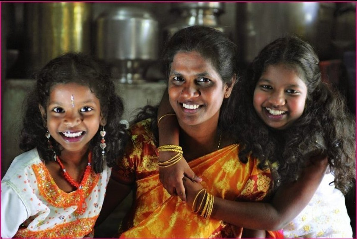 <strong>R. Jayanthi</strong> was left with the difficult task of finding a way to raise her two daughters in Chennai, India,