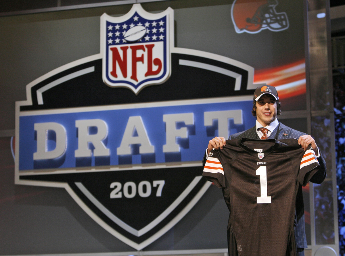 2007 NFL Draft: 22nd pick, first round