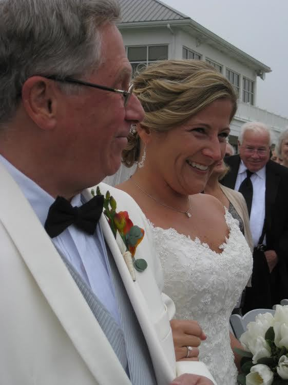 """""""My cousin Paula was married this past Friday, May 9, at Rehoboth Beach Country Club in Rehoboth Beach, Del. This is Paula an"""