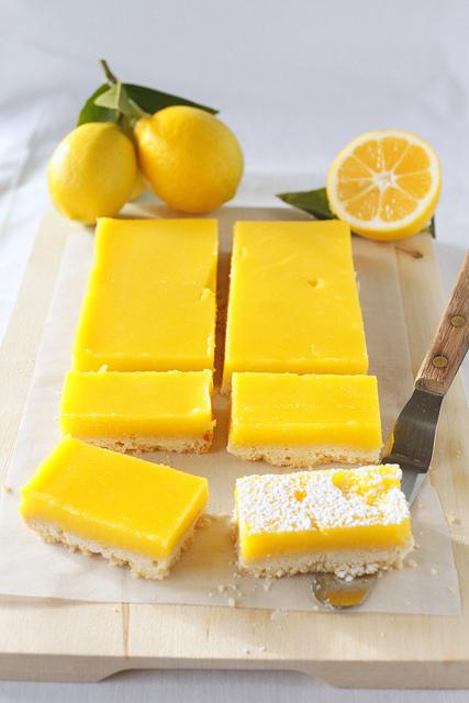 "<strong>Get the <a href=""http://www.treats-sf.com/2011/02/meyer-lemon-bars_13.html"">Meyer Lemon Bars recipe</a> by Treats</st"